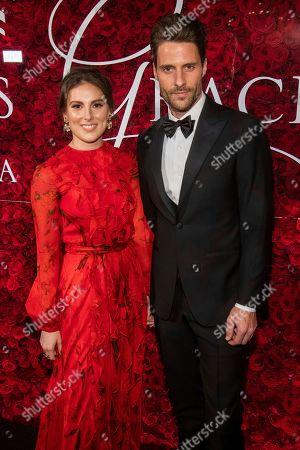 Tiler Peck, Robert Fairchild. Tiler Peck and Robert Fairchild attend the 2019 Princess Grace Awards Gala at The Plaza Hotel, in New York