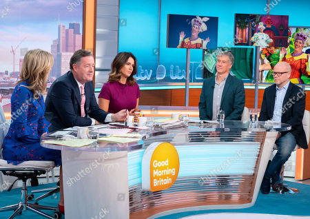 Charlotte Hawkins, Piers Morgan, Susanna Reid, Peter Duncan and Toby Young