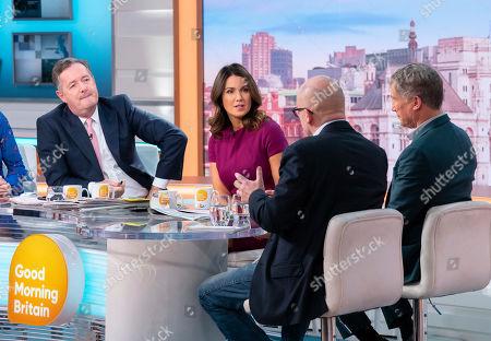 Editorial photo of 'Good Morning Britain' TV show, London, UK - 26 Nov 2019