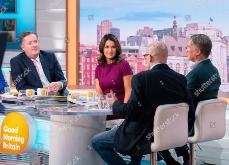 Piers Morgan, Susanna Reid, Peter Duncan and Toby Young
