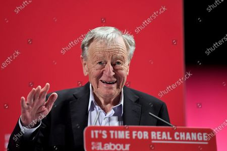 Lord Dubs speaking at the launch of Labour's new Race and Faith manifesto.
