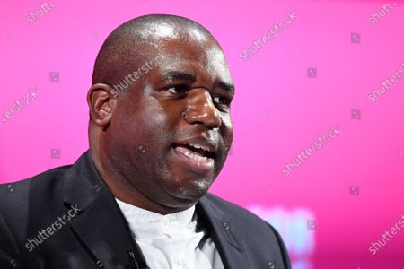 David Lammy MP speaking at the launch of Labour's new Race and Faith manifesto.