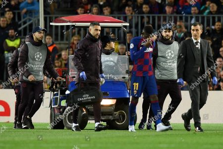 Editorial image of Barcelona v Borussia Dortmund, UEFA Champions League, Group F, Football, Camp Nou, Spain - 27 Nov 2019