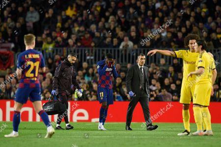 Editorial picture of Barcelona v Borussia Dortmund, UEFA Champions League, Group F, Football, Camp Nou, Spain - 27 Nov 2019