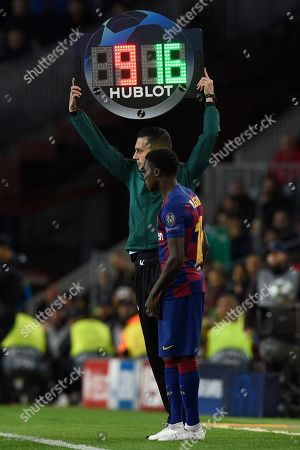 Moussa Wague of FC Barcelona
