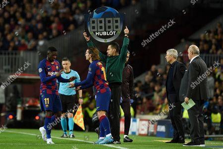 Editorial photo of Barcelona v Borussia Dortmund, UEFA Champions League, Group F, Football, Camp Nou, Spain - 27 Nov 2019