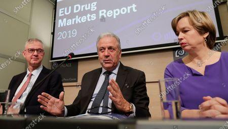 Editorial photo of European Drug Markets Report 2019, Brussels, Belgium - 26 Nov 2019