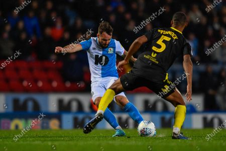 Editorial photo of Blackburn Rovers v Brentford, EFL Sky Bet Championship, Football, Ewood Park, Blackburn, UK - 27 Nov 2019