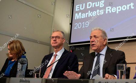 Editorial image of EU Drug Markets, Brussels, Belgium - 26 Nov 2019