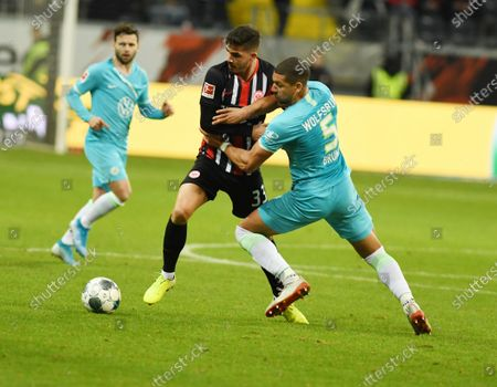 Stock Photo of middlelstuermer Andre Silva  -  Burma (re)