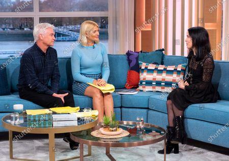 Editorial image of 'This Morning' TV show, London, UK - 26 Nov 2019