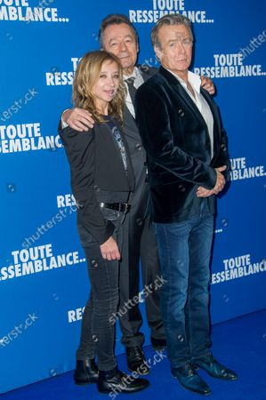 Sylvie Testud, Franck Dubosc and Michel Denisot