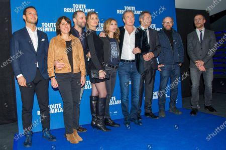 Editorial photo of 'Toute Ressemblance' film premiere, Paris, France - 25 Nov 2019