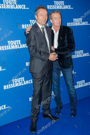 Michel Denisot and Franck Dubosc