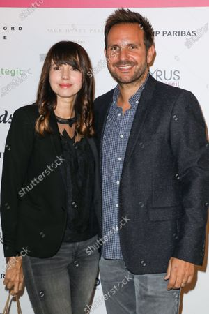 Delphine McCarty and Christophe Michalak
