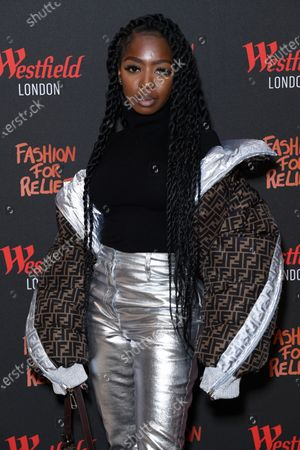 Editorial picture of Naomi Campbell Fashion For Relief pop-up, London, UK - 26 Nov 2019