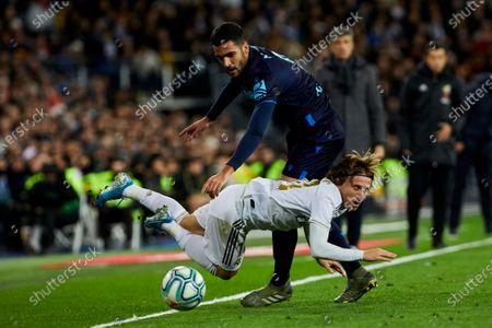 Editorial picture of Real Madrid v Real Sociedad, La Liga football match, Madrid, Spain - 23 Nov 2019