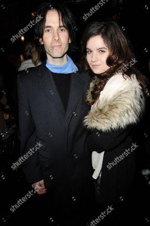 Piers Jackson with Amba Jagger