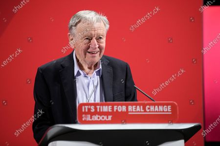 Labour peer Lord Alf Dubs speaks at the Labour Party's Race and Faith Manifesto Launch