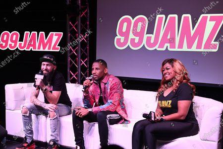 DJ Entice, Fabolous and DJ Supa Cindy