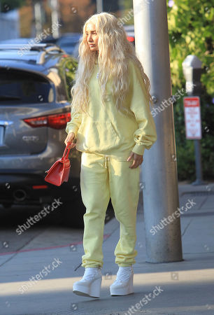 Editorial image of Pia Mia Perez out and about, Los Angeles, USA - 25 Nov 2019