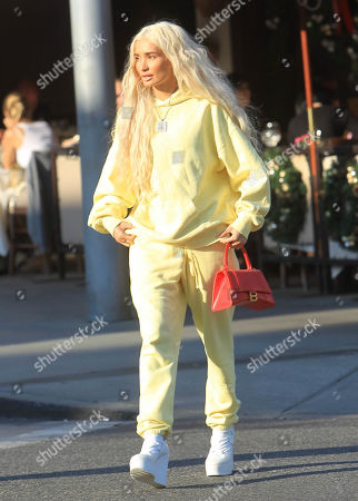 Editorial photo of Pia Mia Perez out and about, Los Angeles, USA - 25 Nov 2019