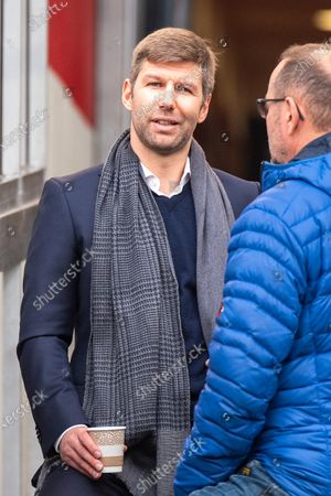 STUTTGART, GERMANY - : Sportvorstand Thomas Hitzlsperger (VfB Stuttgart) at the Football, 2. Bundesliga 2019/2020 - VfB Stuttgart v Karlsruher SC at the Mercedes-Benz Arena on in Stuttgart, GERMANY