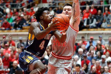Editorial picture of Kent St Ohio St Basketball, Columbus, USA - 21 Nov 2019