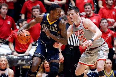 Editorial photo of Kent St Ohio St Basketball, Columbus, USA - 22 Nov 2019