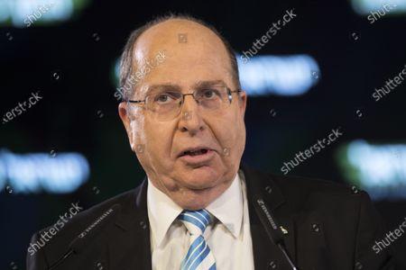 Editorial image of Former Defense Minister Moshe Ya'alon, Jerusalem, Israel - 29 Jan 2019