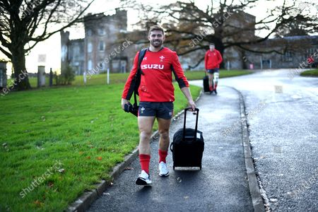 Leigh Halfpenny during training.
