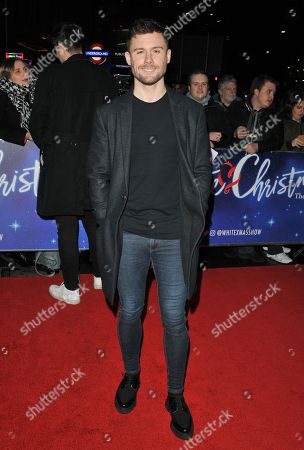 Editorial photo of 'White Christmas' musical, Press Night, London, UK - 25 Nov 2019