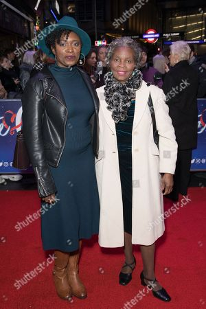Andi Osho and her mother