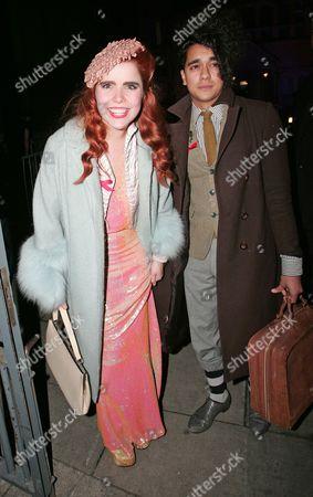 Paloma Faith and Josh Weller