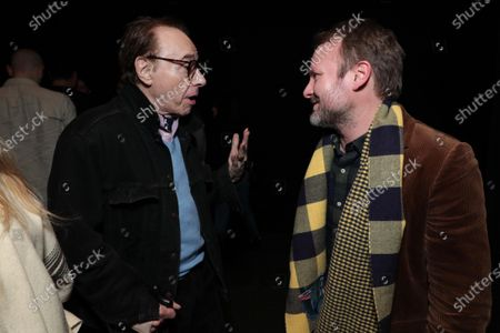 Peter Bogdanovich and Writer/Director/Producer Rian Johnson