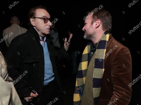 Peter Bogdanovich and Writer/Director/Producer Rian Johnson