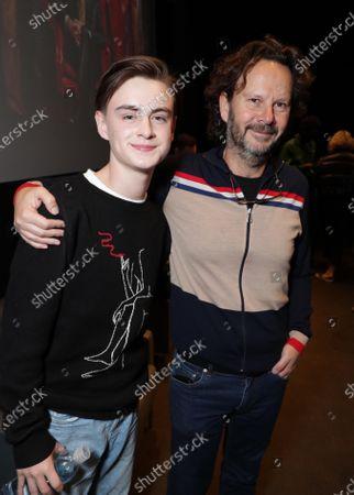 Jaeden Lieberher and Producer Ram Bergman