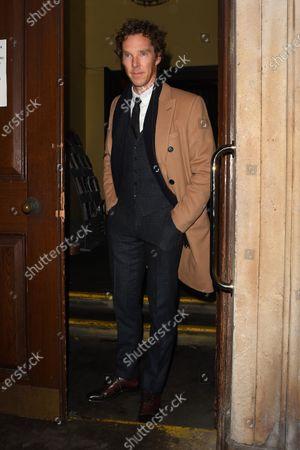 Stock Image of Benedict Cumberbatch
