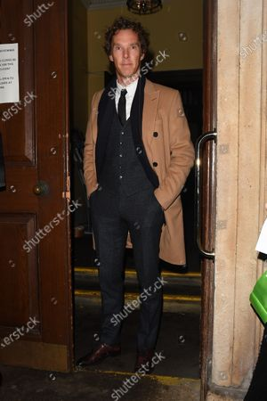 Editorial photo of Benedict Cumberbatch out and about, London, UK - 26 Nov 2019
