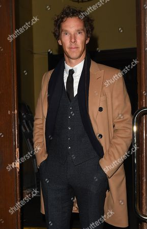 Editorial picture of Benedict Cumberbatch out and about, London, UK - 26 Nov 2019