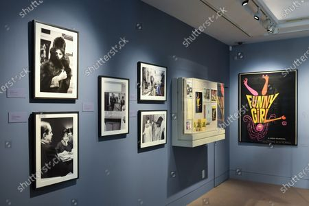 Editorial image of 'Hello Gorgeous' Barbra Streisand exhibition, New York, USA - 26 Nov 2019