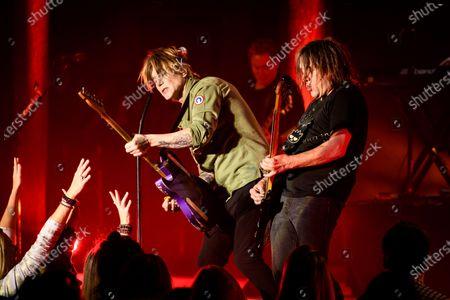 Editorial picture of Goo Goo Dolls in concert, Toronto, Canada - 25 Nov 2019