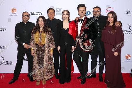 Dibakar Banerjee, Zoya Akhtar, Ronnie Screwvala, Ashi Dua, Karan Johar, Anurag Kashyap and Srishti Behl Arya