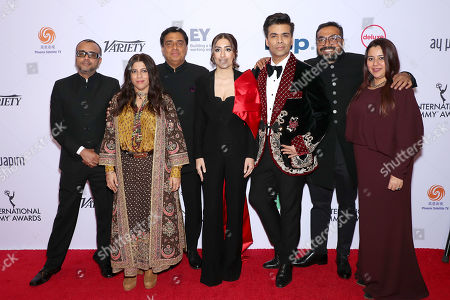Stock Picture of Dibakar Banerjee, Zoya Akhtar, Ronnie Screwvala, Ashi Dua, Karan Johar, Anurag Kashyap and Srishti Behl Arya