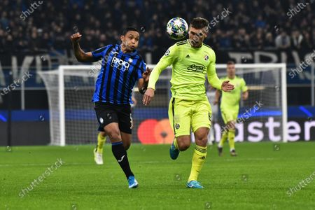 Editorial photo of Atalanta-Dinamo Zagreb, Milan, Italy - 26 Nov 2019