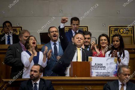 Editorial photo of Altercation in Venezuelan Parliament following intervention by Spanish legislators from PP, Caracas, Venezuela - 26 Nov 2019