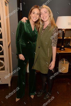 Daisy Knatchbull and Angelica Hicks