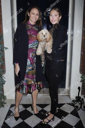 Caroline Rush and Stacey James