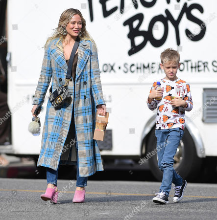 Editorial image of Hilary Duff out and about, Los Angeles, USA - 26 Nov 2019