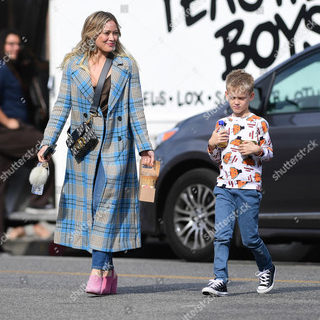 Editorial picture of Hilary Duff out and about, Los Angeles, USA - 26 Nov 2019